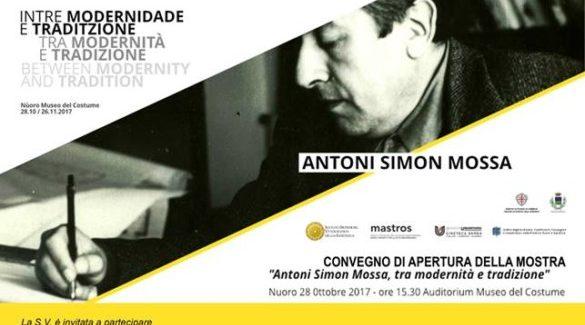A Nuoro il Convegno e inaugurazione della Mostra su ANTONI SIMON MOSSA, tra modernità e tradizione