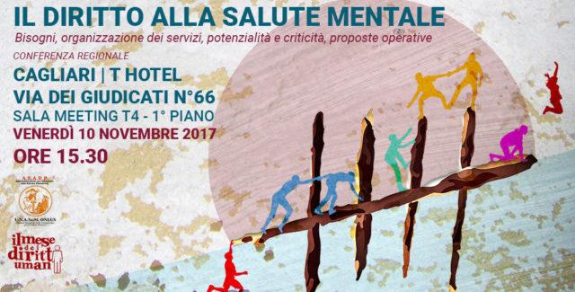 Cagliari: conferenza regionale per il diritto alla salute mentale