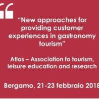 Convegno internazionale sul turismo enogastronomico a Bergamo