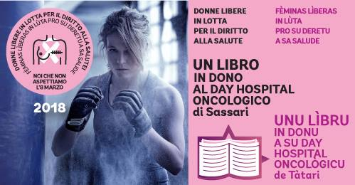 Un libro in dono al Day Hospital Oncologico di Sassari