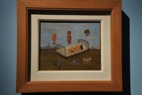 Un'opera di Frida esposta a Milano