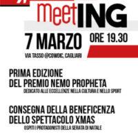 """Cagliari: premio """"Nemo Propheta"""" a Chiara Obino e Pierluigi Piu"""