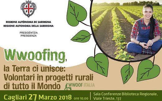 """A Cagliari """"Wwoofing, la Terra ci unisce. Volontari in progetti rurali di tutto il Mondo"""""""