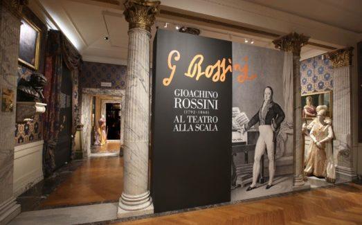Rossini in mostra alla Scala di Milano