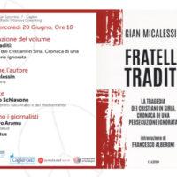 La tragedia dei cristiani in Siria. Mercoledì 20 giugno a Cagliari arriva il reporter di guerra Gian Micalessin