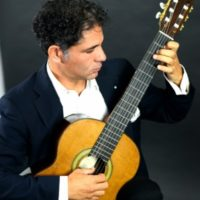 Simone Onnis all'I Alirio Díaz International Guitar Festival