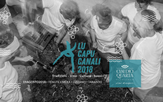 Enoturismo, in Puglia la quinta edizione de Lu Capunali, festa della vendemmia