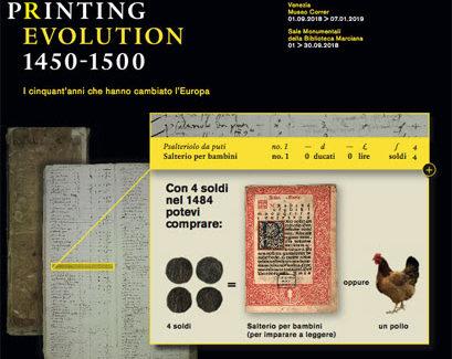 La rivoluzione della stampa in Europa in mostra a Venezia
