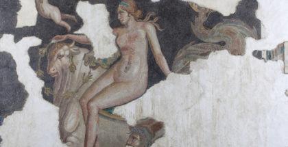Ph. Mosaico con raffigurazione di Nerleide, MAN Aquileia. Crediti: foto Paolo Bernabini