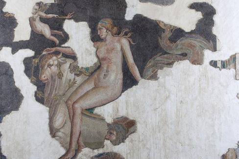 Due splendidi mosaici restaurati tornano al Man di Aquileia