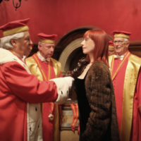 La giornalista Alessandra Piubello è stata nominata Chevalier dalla Confrérie des Chevaliers du Tastevin