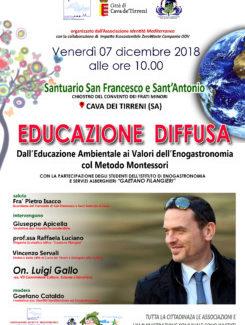 Luigi Gallo e l'Educazione Diffusa al Santuario Francescano di Cava de' Tirreni