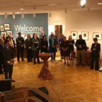 Inaugurazione alla Phillips Collection della mostra di Bice Lazzari – The Poetry of Mark Making