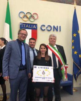 Proclamata ieri Livigno come European Sport Town 2019