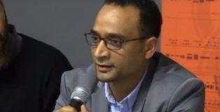 Safwan Mohamed durante l'incontro