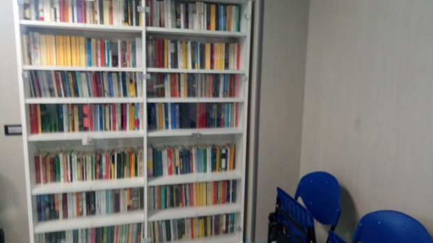Biblioteca ospedale oncologico di Sassari