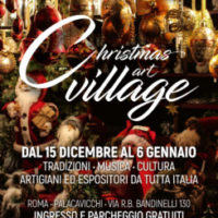 A Roma parte il Christmas art village