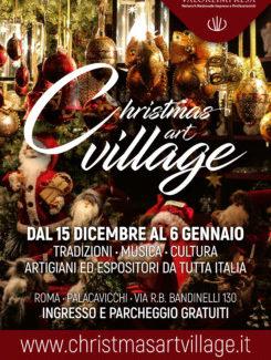 A Roma parte il Christmas art village