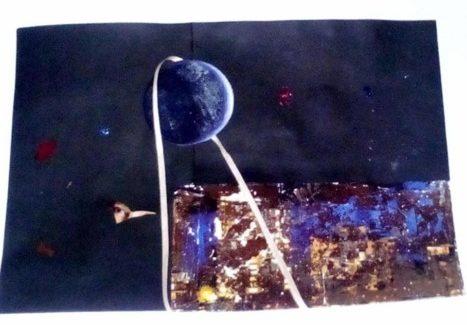 Rossana Bucci alla mostra POETIC BOOM BOOM