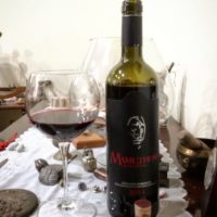 Mamuthone Cannonau di Sardegna Doc 2014 di Giuseppe Sedilesu