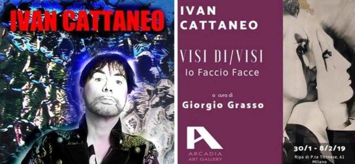 """Mostra Personale di Ivan Cattaneo """"VISI DI/VISI – Io Faccio Facce"""""""