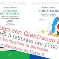 Dialogo con Gianfranco Sabattini alla Fondazione di Sardegna