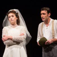 Teatro della Cometa: LETIZIA VA ALLA GUERRA - La suora, la sposa e la puttana di Agnese Fallongo