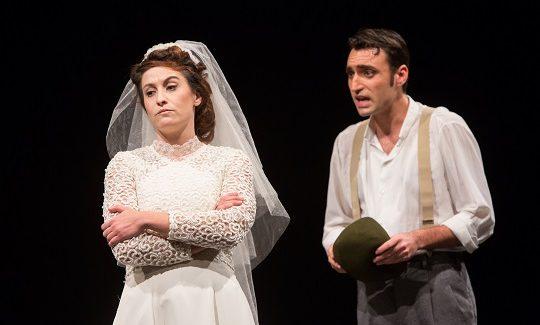 Teatro della Cometa: LETIZIA VA ALLA GUERRA – La suora, la sposa e la puttana di Agnese Fallongo