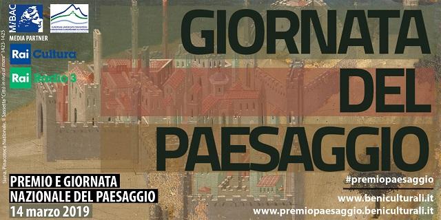 14 marzo 2019 PREMIO E GIORNATA NAZIONALE DEL PAESAGGIO