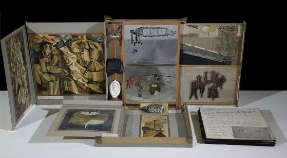 """Il capolavoro di Marcel Duchamp """"Boîte en-valise"""" all'Opificio delle Pietre Dure di Firenze"""