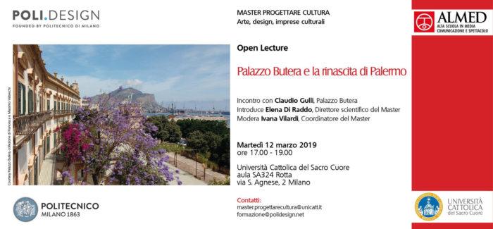 Open lecture   Palazzo Butera e la rinascita di Palermo