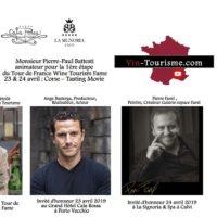 Tour de France Wine Tourism Fame 23 et 24 avril 2019