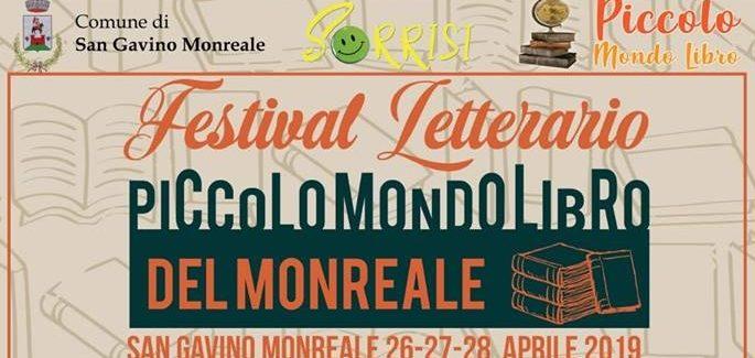 """Al via da venerdì la prima edizione del festival """"Piccolo Mondo Libro del Monreale"""""""