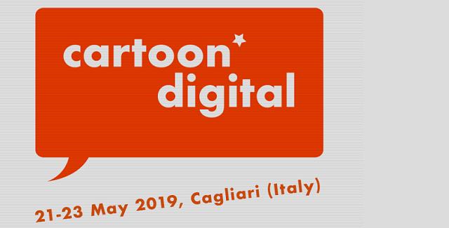 Arriva in Sardegna il Cartoon Digital 2019
