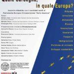 """QUALE SARDEGNA, IN QUALE EUROPA? Incontro-dibattito con candidati sardi e candidate sarde al  Parlamento Europeo –  Circoscrizione """"Italia Insulare"""""""