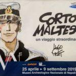 Alla Mostra dedicata a Corto Maltese al Man di Napoli