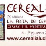 Cerealia. La Festa dei Cereali. L'etica nel piatto: Cibo, Salute, Ambiente