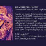 """""""Graffiti dell'anima"""" la personale dell'artista Karima Angiolina Campanelli a Palazzo Paolo V di Benevento"""