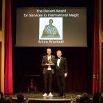 ARTURO BRACHETTI premiato a Londra nell'olimpo della magia internazionale
