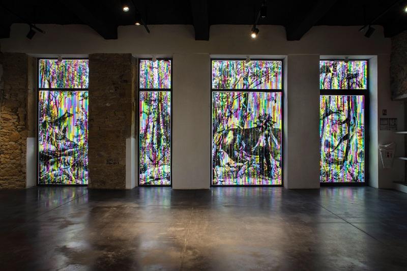 arte contemporanea: Le Monde Est Une Invention Sans Futur