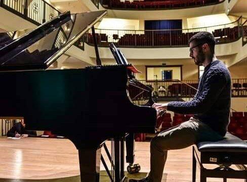 I talenti dell'Accademia internazionale di musica di Cagliari Marco Schirru