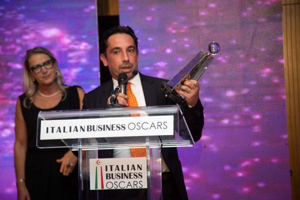 Premiazione società GEMA all'Italian Business Award 2019 Tabarka