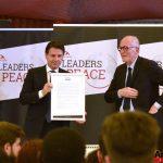Il Premier Conte porta Rondine all'Assemblea Generale dell'Onu come modello di mediazione dei conflitti