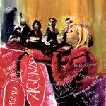 """Per la Copertina de """"La Lettura"""" il disegno di Nada Prlja, artista del Padiglione della Macedonia del Nord alla Biennale Arte 2019 - Venezia"""