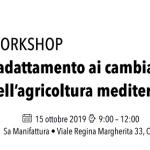 """Cagliari ambiente: presentazione del progetto internazionale Med Gold """"L'adattamento ai cambiamenti climatici dell'agricoltura mediterranea"""""""