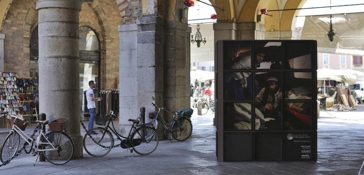 i GIGANTI, Piazza Broletto Lodi