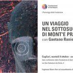 Un viaggio del sottosuolo di Mont'e Prama con Gaetano Ranieri