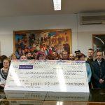 """""""Certe luci non puoi spegnerle"""", l'associazione che promuove la lotta contro i tumori, raccoglie più di seimila euro di donazioni"""