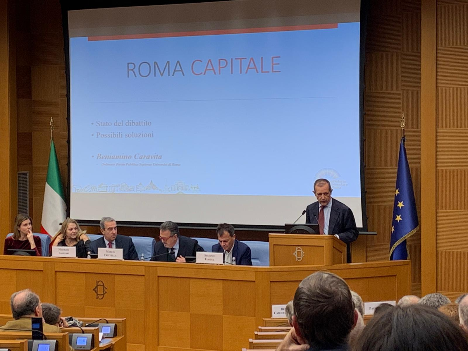convegno roma capitale