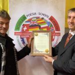 WikiPoesia riceve la Croce d'Oro dell'Unione Mondiale dei Poeti e consacra il 2020 alla Poesia